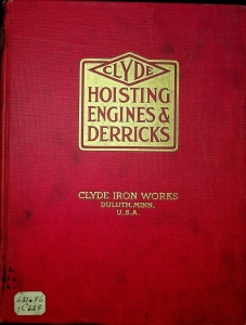Clyde Hoisting Engines and Derricks by Clyde Iron Works
