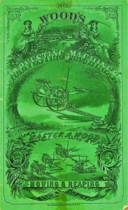 Walter A. Wood. Mowing & Reaping, 1874, 21st Annual Circular