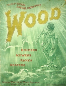 Walter A. Wood. 38th Annual Catalogue, 1889, Binders, Mowers, Rakes, Reapers