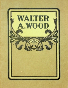 Walter A. Wood. Machines for 1905 Catalogue