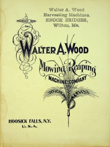 Walter A. Wood Mowing and Reaping Machine Company