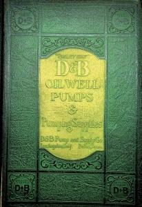 D & B Pump And Supply Company, Catalog Number 6, Franklin Institute Library