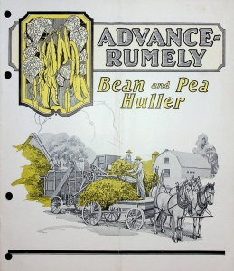 Advance Rumely Bean and Pea Huller catalog