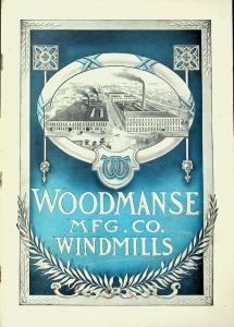 Woodmanse MFG. CO. Windmills Catalog No. 25, Issued May 1927