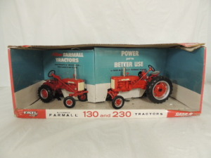 1/16th RC2 Farmall 50th Anniversary Collector Edition set of (2)-wide front tractors