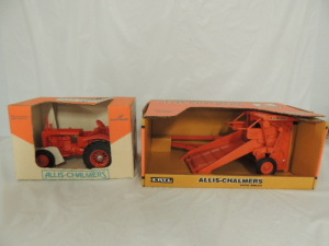1/16th Ertl/Scale Models Allis-Chalmers (2)-items