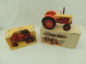 1/16th Ertl Case (2)-Collector Edition wide front tractors w/fenders