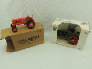 1/16th Scale Models Allis-Chalmers (2)-tractors