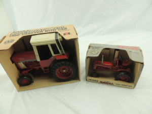 1/16th Ertl Farmall/International (2)-wide front tractors