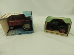 1/16th Scale Models Deutz/Allis-Chalmers (2)-tractors w/fenders
