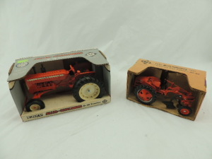 1/16th Ertl/Scale Models Allis-Chalmers (2)-wide front tractors w/fenders