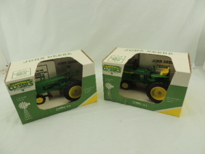 1/16th Scale Models John Deere (2)-1994 Farm Progress Show narrow front tractors