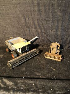 (2) Gleaner Toy Combine Lot