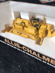Allis-Chalmers 1/16th Highly Detailed HD3 with Industrial 60 Backhoe and Blade Toy Crawler