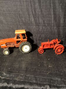 (2) 1/16th Allis-Chalmers Toy Tractors