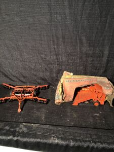 (2) Allis-Chalmers Farm Toy Lot
