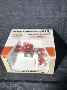 Allis-Chalmers 1/16th D15 Official Summer Farm Toy Show Spec-Cast Toy Tractor