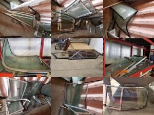 Large Assorted Boat Windshield  Lot