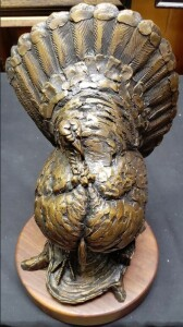 The Candidate Turkey Sculpture by Paul Rhymer