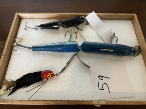 Tray of Large Lures