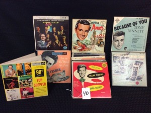 Vintage collection of classic recording artists