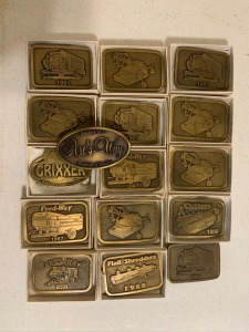 Assorted Arts Way Collectable Belt Buckles
