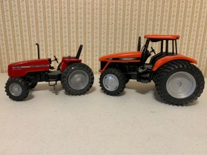 (2) Tractors - 4270 Massey And DT225 Arco