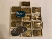 Arts Way Collectible Belt Buckles Lot