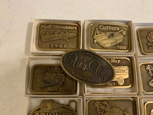 Arts Way Collectible Belt Buckles Lot 2