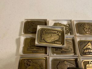 Arts Way Collectible Belt Buckles Lot 3