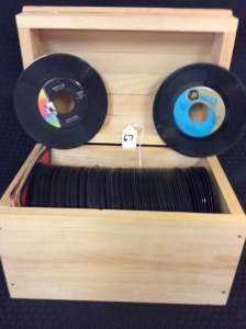 Collection of 125 plus 45 records