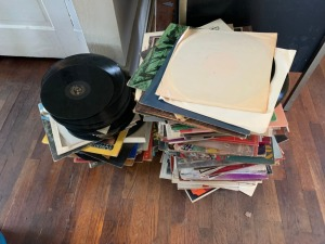 Assorted Vinyl Records Lot