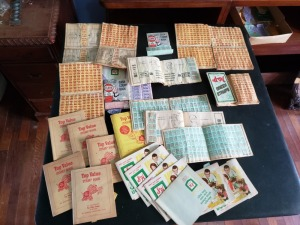 Cash Stamps Books Lot