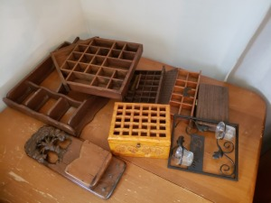 Wall Display Shelfs Lot