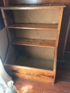 Antique Bookcase Toy Box