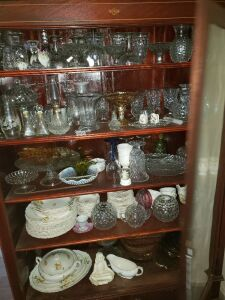 Large Glassware And Dishes Lot