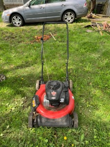 "Yard Machines 21"" 125cc Mower"