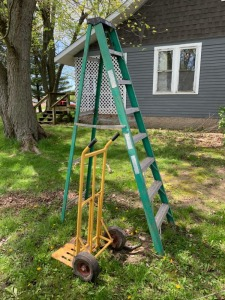 Ladder And Dolly