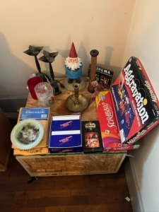 Board Games And Home Décor Lot