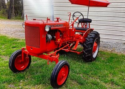 1955 Allis Chalmers B with Mounted Plow