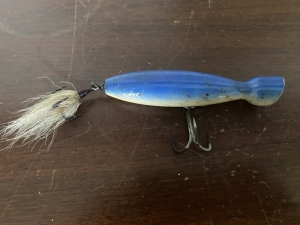 WOOD POPPER STYLE LURE