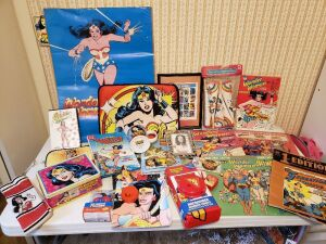 Wonder woman collectable Lot