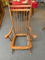 Antique rocking chair. Needs repaired