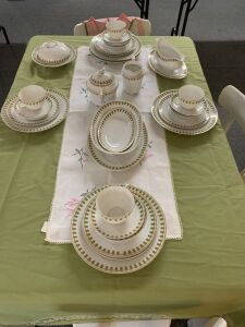 39 piece Vienna Austria China Set