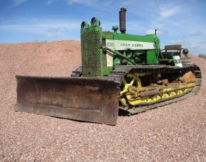 1959 John Deere 430 crawler - Original Paint - 772 Hours!