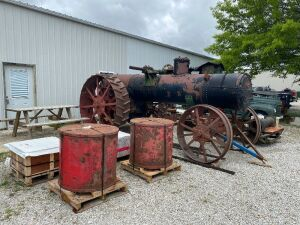 Minneapolis 22-24hp Traction Engine Project
