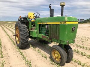 1973 John Deere 4030 Open Station - Quad Range - Factory Convertible Front