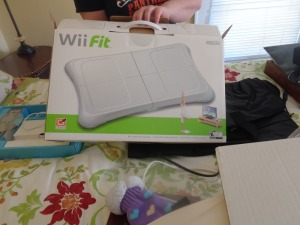 Wii system, complete with box
