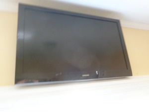 "Samsung 42"" flat screen TV"