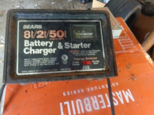 Sears battery charger 8/2 amp